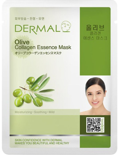 DERMAL OLIVE COLLAGEN ESSENCE MASK 1 ks