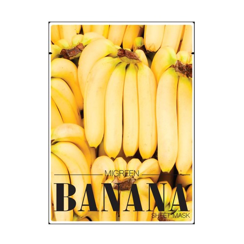 MIGREEN BANANA FRUITY MASK SHEET